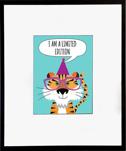 Tiger Poster 600 X 480 X 12mm