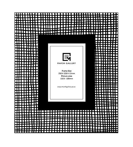 Gingham_Picture Frame  300 X 240 X 12mm