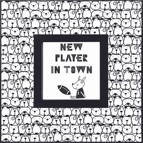 Dog_New Player in Town   400 X 400 X 12mm