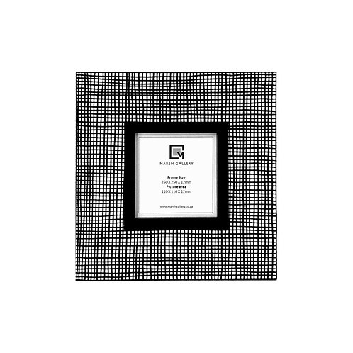 Gingham_Picture Frame  240 X 240 X 12mm
