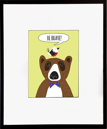 Bear Poster 600 X 480 X 12mm