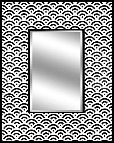 Geometric WiFi_Mirror