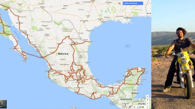 40,000 kms por México
