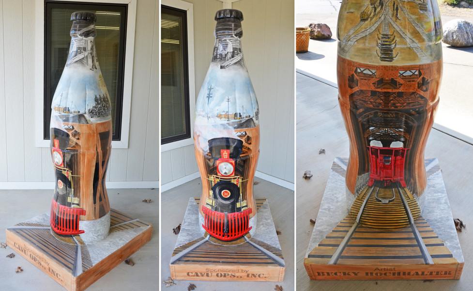 Root Family Foundation Coke Bottles