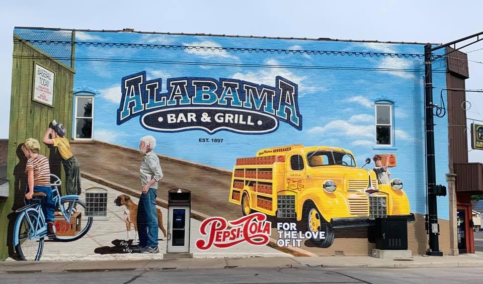Pepsi / Alabama Bar & Grill Mural
