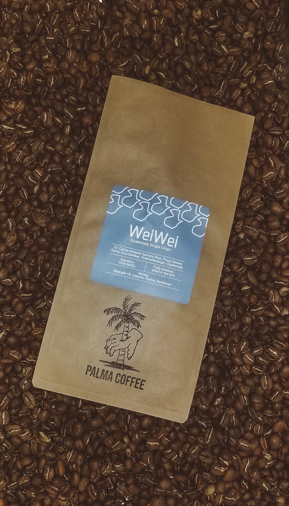 Freshly Roasted Single Origin Coffee WeiWei Huehuetenango Guatemala