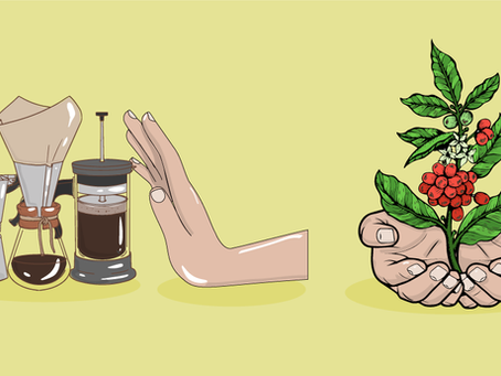 Make coffee about the fruit, not the gadgets