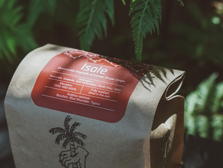 Previous Coffee Release: ISALE Washed Organic coffee from the Democratic Republic of Congo