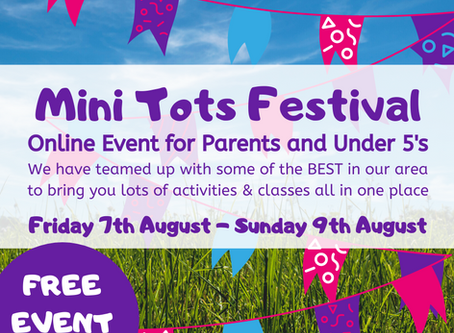 Mini Tots Festival - Free Event for Under 5's