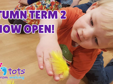 Booking NOW Open for Autumn 2