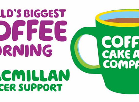 Macmillan Coffee & Open Class Morning!