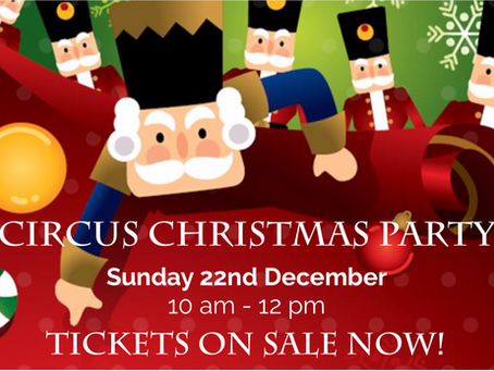 Tickets on sale NOW for our Tiny Tots Christmas Party!