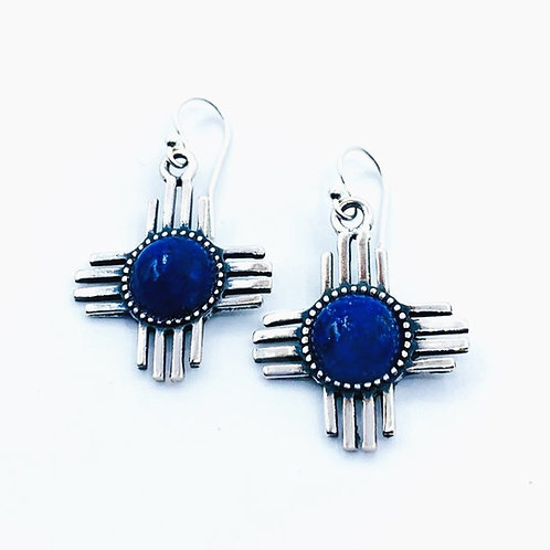 Zia Lapis Earrings