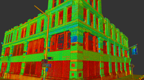 Brown Building scan