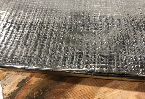 fabric study- cast stainless steel