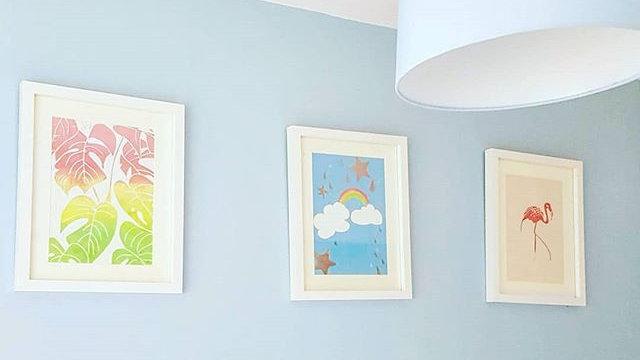 Rainbow Trio Prints