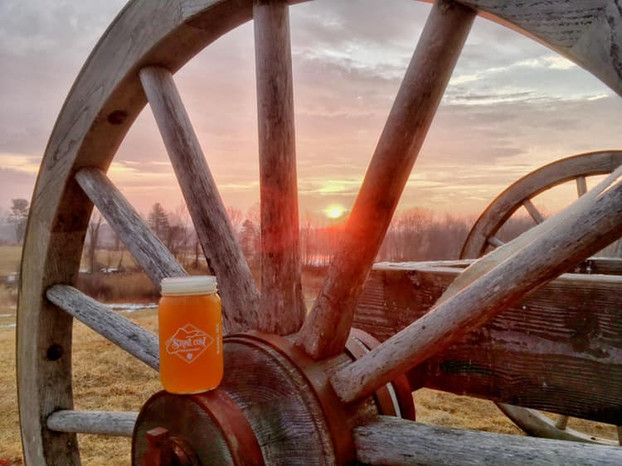 Here on the farm we are brewing with a purpose...