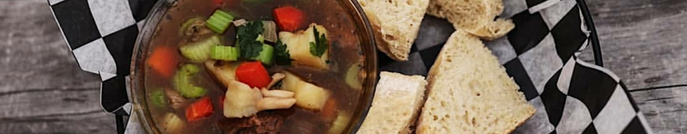 Home-made soups & bread