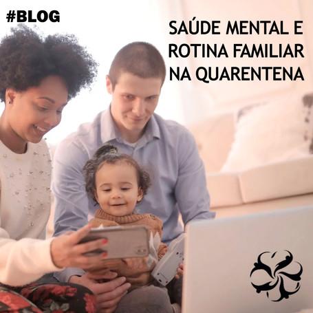 Saúde mental e Rotina Familiar