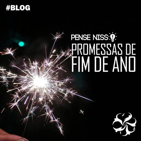 Pense Nisso - Promessas de fim de ano