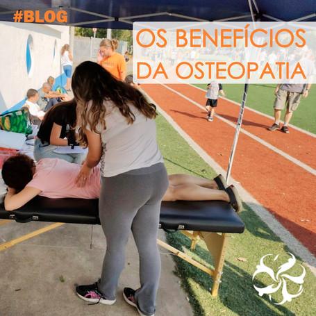 Os benefícios da osteopatia