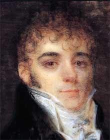 Simon Bolivar jeune homme, en 1804, au moment où il est intime d'Anne Laisnay.