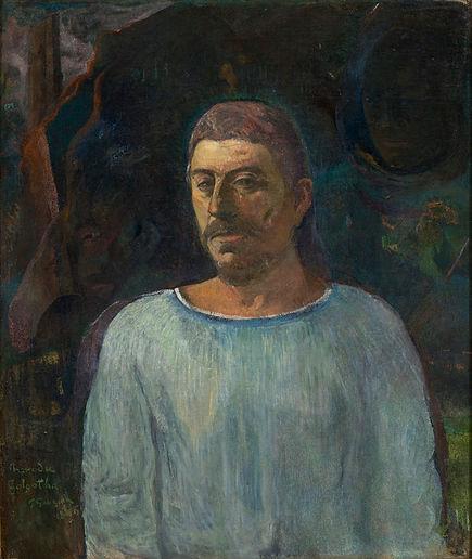 Gauguin_-_Auto-retrato_(Perto_do_Gólgota