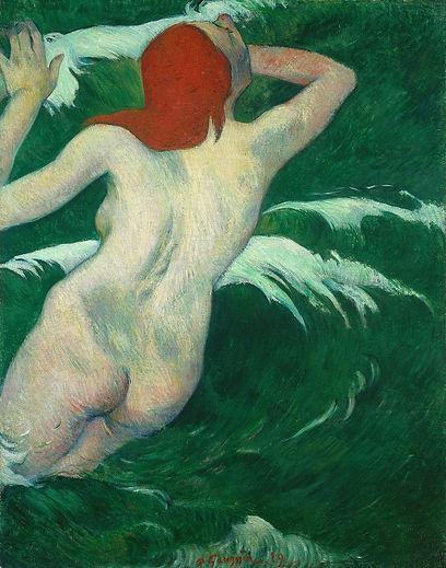 Paul_Gauguin_-__In_the_waves__or__Ondine