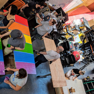 RAINBOW PANEL PAINTING PARTY