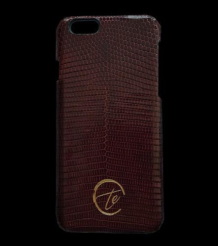Lizard Leather iPhone Phone Case