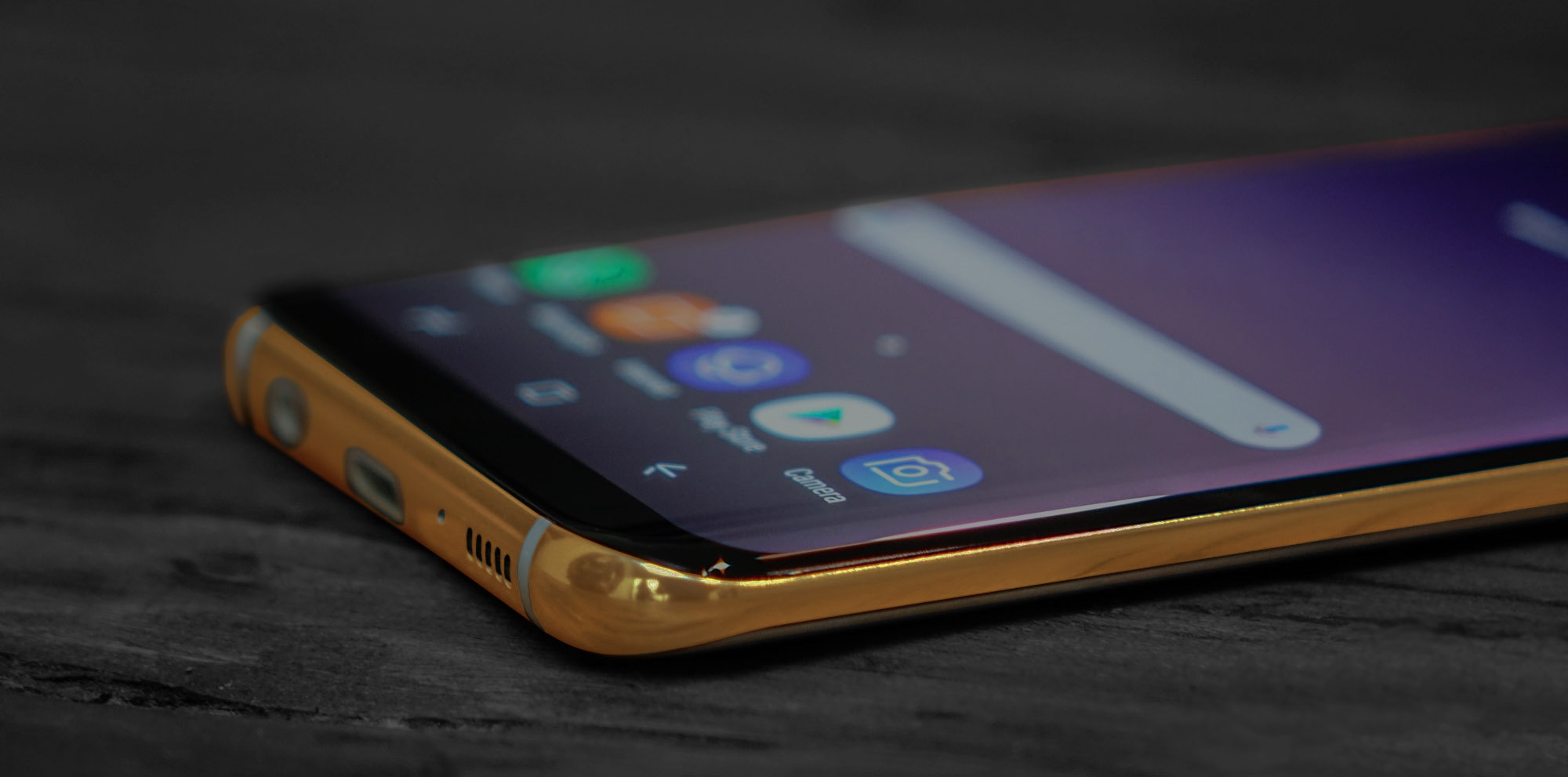 24K Gold Samsung Galaxy S8