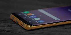 24K Gold Samsung Galaxy S8