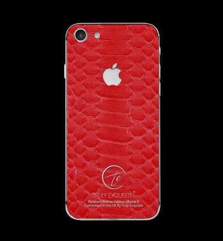 Platinum Red Python Edition iPhone 8