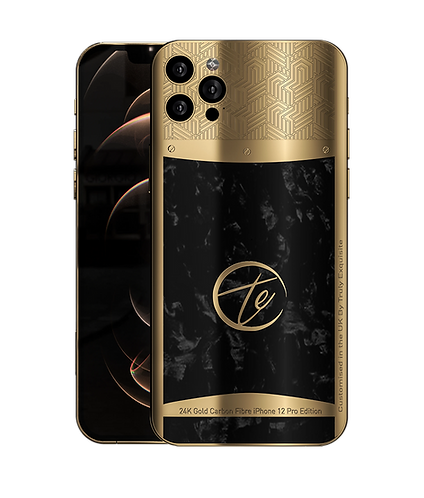 Luxury Plated Carbon Fibre Edition iPhone 12 Pro & Pro Max