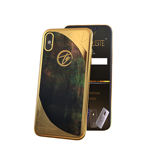 Luxury Plated Mother of Pearl Edition iPhone XS & XS Max
