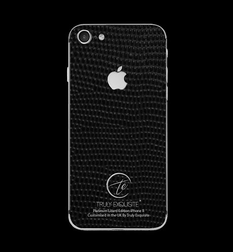 Platinum Black Lizard Edition iPhone 8