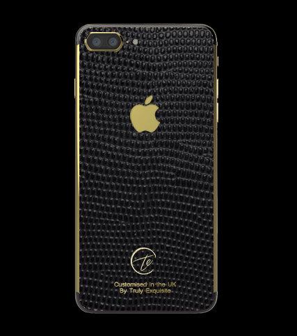 24K Gold Black Lizard Edition iPhone 7 Plus