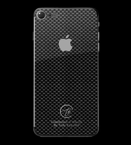 Platinum Plated Carbon Fibre iPhone 7