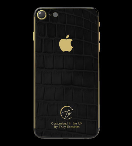 24K Gold Black Croco Edition iPhone 7