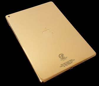 24K Gold Plated iPad Pro