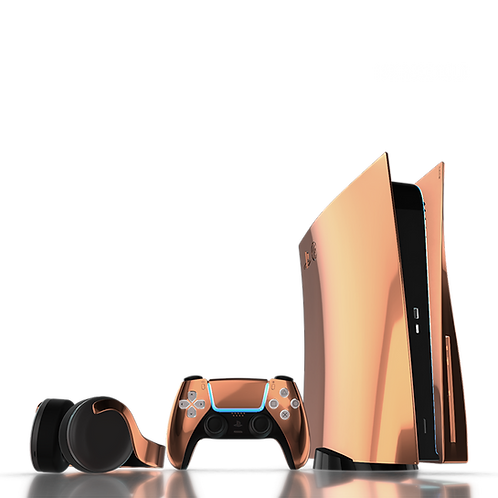 Luxury Customised Limited Edition 18K Rose Gold PS5 (PRE ORDER DEPOSIT)