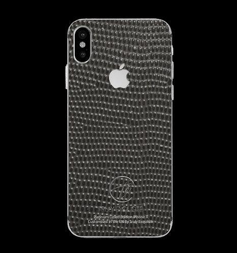 Platinum Grey Lizard Edition iPhone X