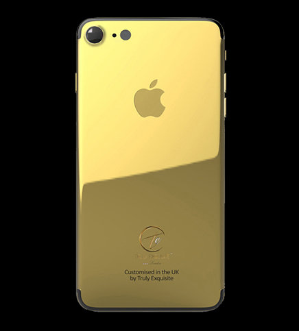 24K Gold Plated iPhone 7