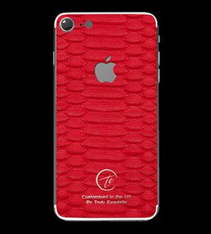 Platinum Red Python Edition iPhone 7