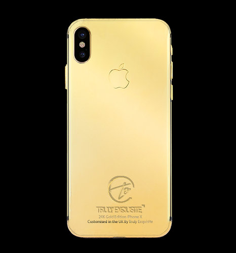 24K Gold Plated iPhone X