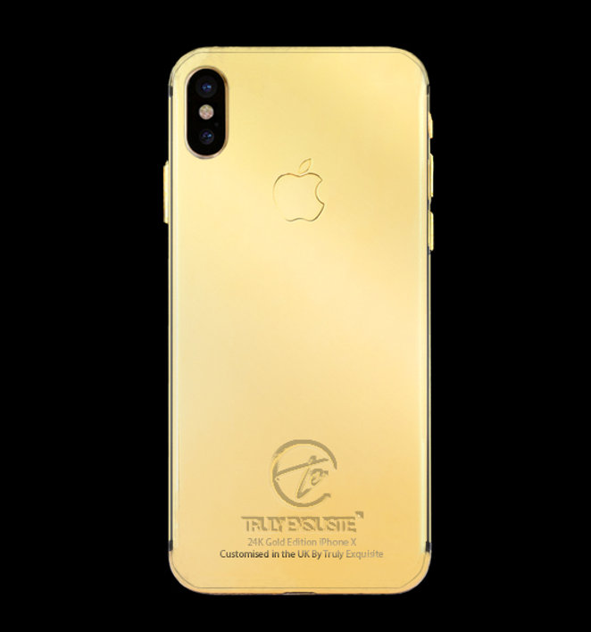 los angeles 41512 9c81d 24K Gold Plated iPhone X | Truly Exquisite