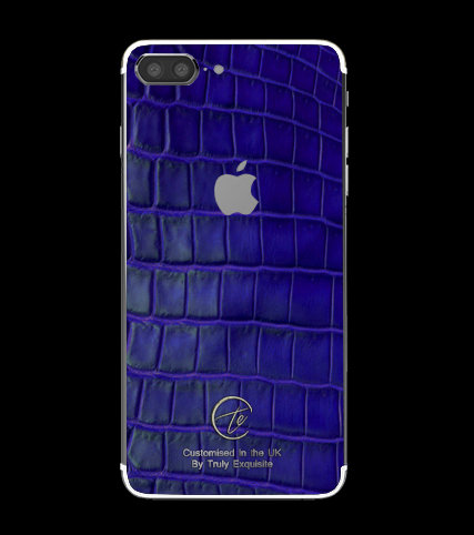 Platinum Blue Croco Edition iPhone 7 Plus