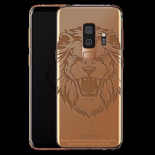 18K Rose Gold Lion Limited Edition Samsung S9 Plus