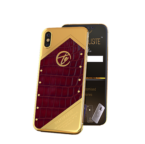 Luxury Plated Croco Edition iPhone XS & XS Max