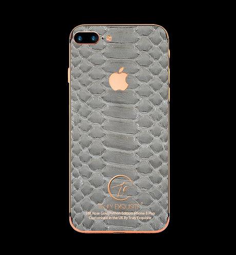 18K Rose Gold Grey Python Edition iPhone 8 Plus